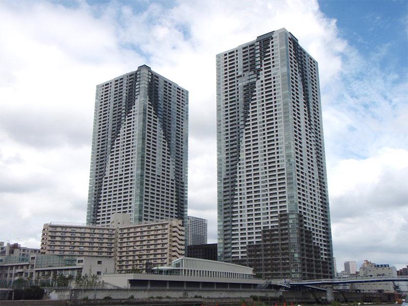 日本最大級の超高層マンション ザ・トーキョー・タワーズ
