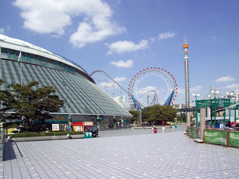 都内最大級の総合レジャー・リゾート東京ドームシティ内屋内遊園地 ジオポリス